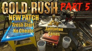 """GOLD RUSH THE GAME  NEW PATCH SEASON 2 """"RUSH FOR GOLD"""" PT 5"""