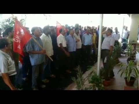 ONGC Worker Union Movement