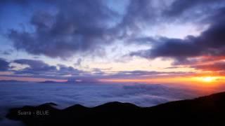 【Suara blue】標高1,950m 美ヶ原高原美術館からの夜明け【Oct 08, 2014 at dawn】