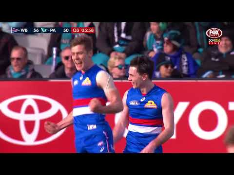 Round 22 AFL - Western Bulldogs v Port Adelaide Highlights
