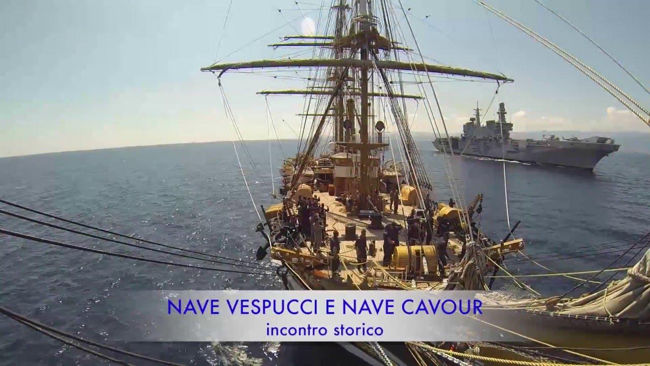 Marina militare la signora dei mari incontra nave cavour - Nave portaerei ...