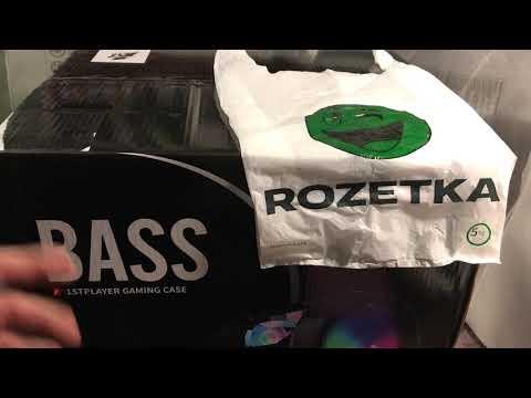 Корпус 1stPlayer BASS-G7-MAX Black