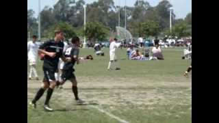 CZ Elite BU17 National Cup 2012 Goal vs Santa Barbara White - Fausto (Tato) Espinoza