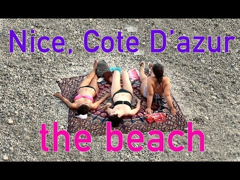 Cote D'azur, Nice City - The Beach, French Riviera