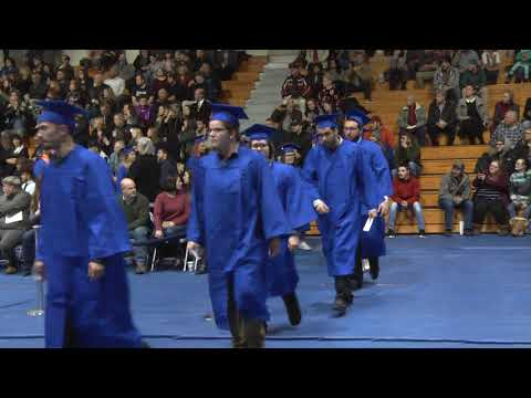 Clinton Community College Commencement  12-15-17