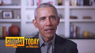Obama Criticizes Trump Administration's Handling Of Coronavirus Pandemic | Sunday TODAY