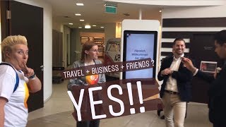 TRAVEL + BUSINESS + FRIENDS ? YES!!