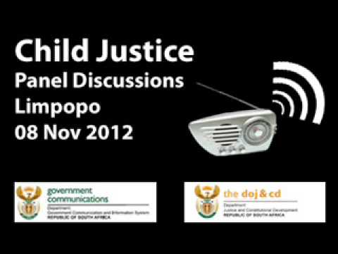 Child Justice Radio Programme, 08 Nov 2012, Limpopo