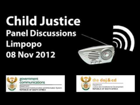 Child Justice Radio Programme, 08 Nov 2012, Limpopo