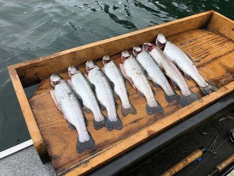 2018 Silver Lake Whatcom County Lake Fishing Opening Day