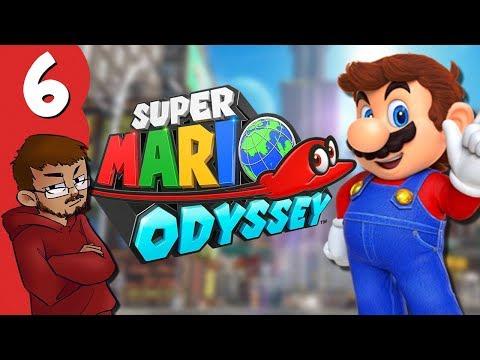 Let's Play | Super Mario Odyssey - Part 6 - Undersea Travesty
