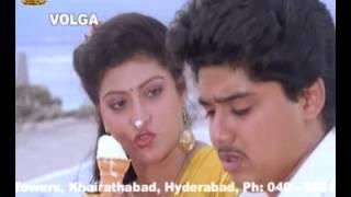Prema khaidi Telugu Full Movie | Harish Kumar and Malashri funny Scene in Car | Suresh Productions