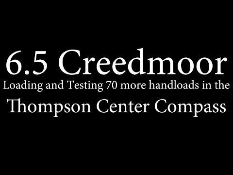 6.5 Creedmoor - 70 more handloads for the T/C Compass