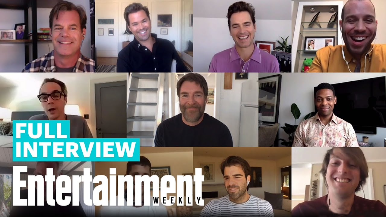 'The Boys In The Band' Cast: Matt Bomer, Jim Parsons , Zachary Quinto, & More