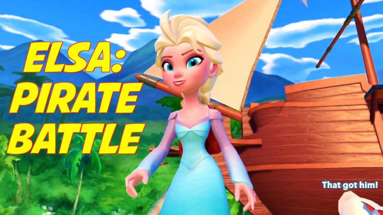 Jedi Elsa Battles Pirates