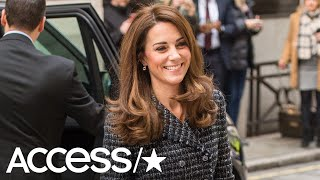 Kate Middleton Rocks Chic Tweed Look While Stepping Out For Mental Health Conference | Access