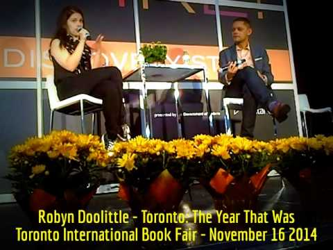HiMY SYeD - Robyn Doolittle, Toronto: The Year That Was, Matt Galloway Toronto Book Fair Nov 16 2014