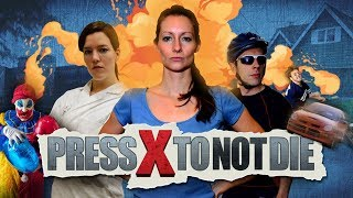 Press X to Not Die - All Cutscenes (Game Movie) 1080p HD