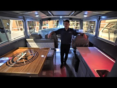 32 Allied Liberator Aluminum Pilot House Boat !