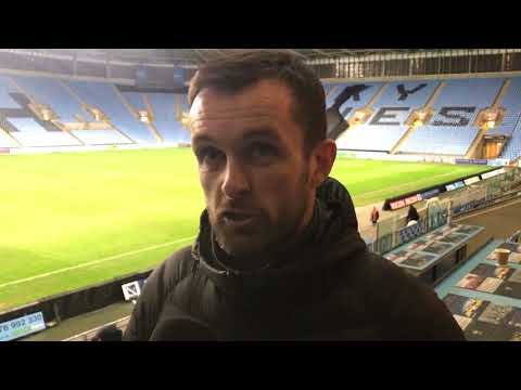 Nathan Jones on the draw with Coventry City