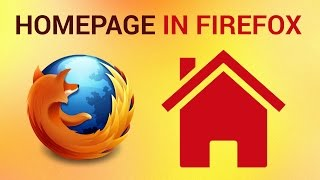 How to set Firefox Homepage