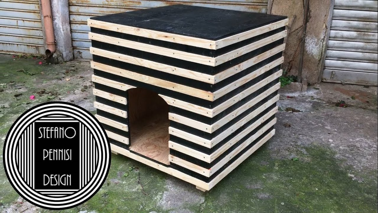 Cucce Design Per Cani how to make a doggy house - come fare una cuccia per cani - fai da te