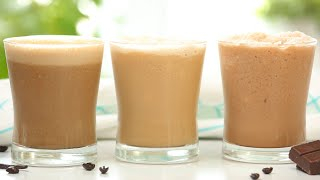 Iced Coffee 3 Delicious Ways | Frozen Summer Drinks