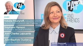 PAF – Patrice and Friends – avec Natalia Pouzyreff – Emission du 14 octobre 2017