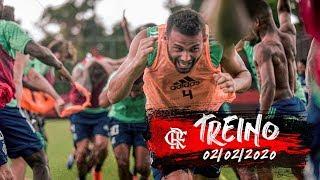 Treino do Flamengo - 02/02/2020