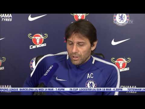 Antonio Conte Press Conference | Man City v Chelsea