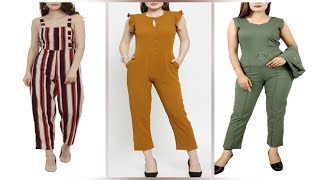 Different style of Jumpsuits for Girls || Latest Jumpsuit Design || New Jumpsuit for Women