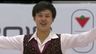 Joseph PHAN Free Skate 2019 Canadian National Skating Championships