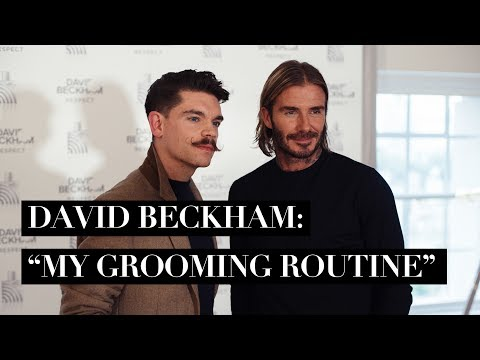 Interviewing David Beckham | His Secret To Looking So Good