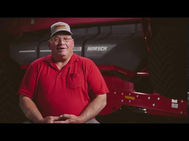 HORSCH Customer Testimonial: Mark Bennet Maestro SV
