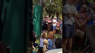 Tom Petty park dedication 10.20.18 -- Gainesville, Florida