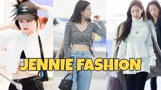 BLACKPINK JENNIE AIRPORT FASHION 2019