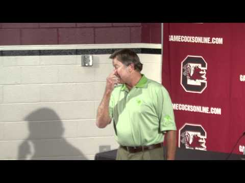 Steve Spurrier Ron Morris October 11, 2011.mov