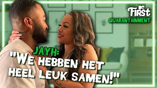 WAT SPEELT er tussen JAYH en LAUWTJE? | MTV FIRST