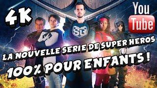 SUPER BONHOMME - La Nouvelle Série de Super Héros pour ENFANTS ! 4K