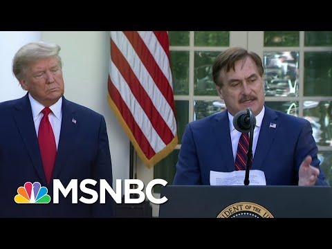 My Pillow CEO details how company is fighting COVID-19 | MSNBC