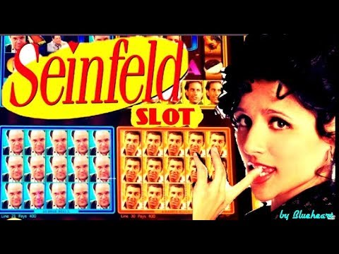 ★NEW GAME★ SEINFELD slot machine Live play with BONUS WINS! (FIRST TRY) - 동영상