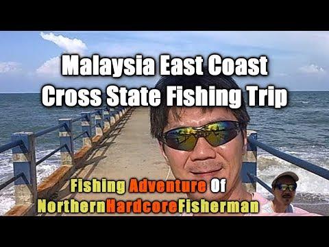 Malaysia Fishing Trip: 2011 East Coast Cross State Fishing Road Trip REMAKE | FishingAdvNHF