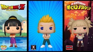 Upcoming Funko Pops: Chalice Collectibles Mirio + AAA Anime Exclusive Himiko Toga | My Hero Academia