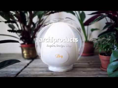 Design Clip | Solenica - Lucy: the lamp which tracks the sun and reflects sunlight into your room