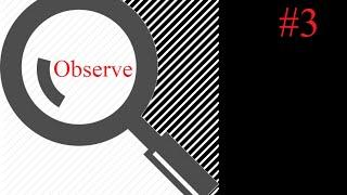 Observation 101 #3