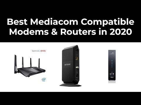 Best Mediacom Compatible Modems & Routers In 2020