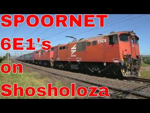 SHOSHOLOZA MEYL Train: S Meyl to JHB at BRACKENFELL with Metro waiting