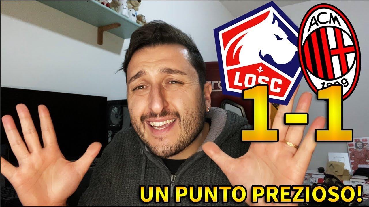 Hanno SPRECATO una GROSSA OCCASIONE!!! BAMBA FERMA IL MILAN!!! Lille-Milan 1-1