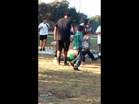 Salinas CA Fight Central Park Rd 1