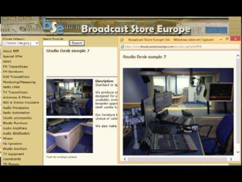 Broadcast Store Europe presentation
